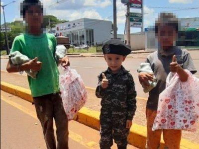 """""""Lincito"""" regaló juguetes a niños por el Día de los Reyes"""