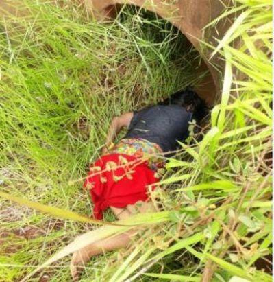 Mujer indígena pereció ahogada en una cuneta