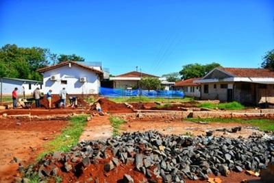 Inician obras en hospitales de Minga Guazú y Presidente Franco