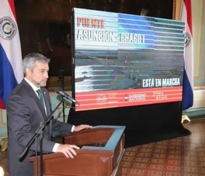 Nuevo puente cambiará la configuración logística de dos zonas estratégicas, destaca mandatario