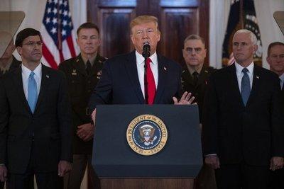 Trump sostiene que ataque de Irán no causó daños a las tropas de EE.UU. en Irak