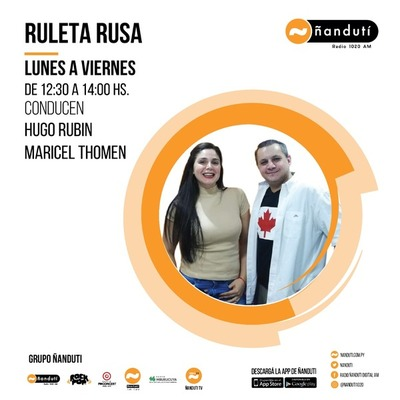 Ruleta Rusa con Hugo Rubin, José Caballero y Maricel Thomen