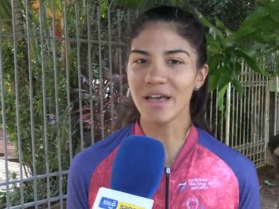 """Agua Marina Espínola: """"Me ayudó mucho salir y codearme con el ciclismo internacional"""""""