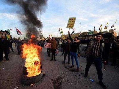 Impactan dos cohetes cerca de la Embajada de EEUU en Bagdad