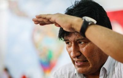 Bolivia solicita la   captura internacional de Morales