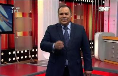 Monólogo de Jorge Esteche en el SNT Deportes