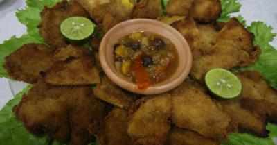 Oikoite la milanesa de mango en Areguá