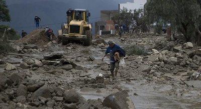 Bolivia declara alerta por riesgo de inundaciones