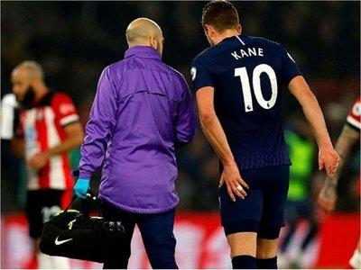 Kane será baja al menos hasta abril