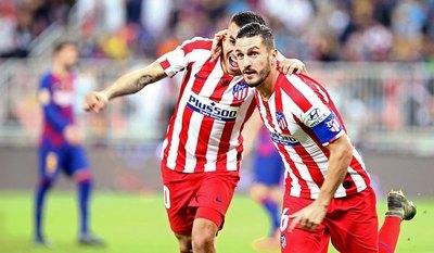 Atlético de Madrid venció al Barcelona y jugará la final de la Supercopa