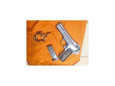 Hallan un arma de fuego con nueve balas en Tacumbú
