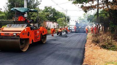 MOPC recibirá ofertas para pavimentación de 158 km. en cinco departamentos