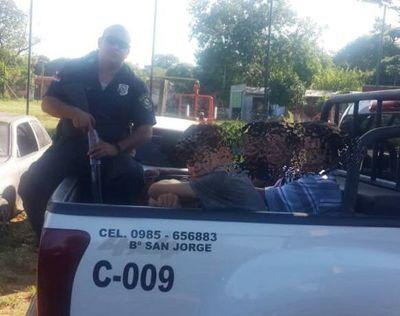 Policía desbarata banda de supuestos ladrones domiciliarios