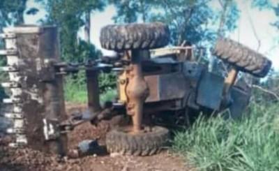 Joven muere aplastado por un tractor