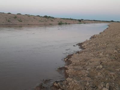 Río Pilcomayo ingresa al Chaco sin inconvenientes por nueva embocadura