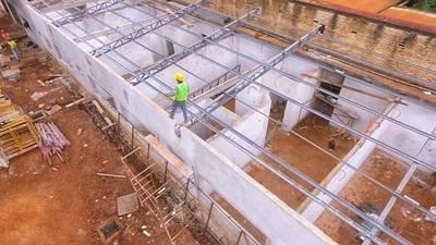Obras de ampliación del Hospital de Hernandarias presentan un importante avance