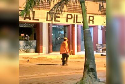 """""""Laíno"""", el recolector pilarense que fue destacado por su sacrificada labor"""