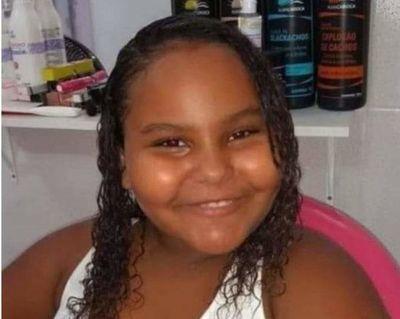 Niña muere por bala perdida en casa en Rio de Janeiro