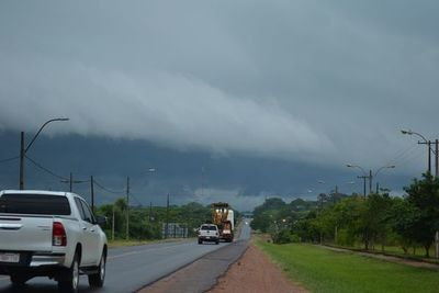 Nueve departamentos podrían verse afectados por tormentas eléctricas