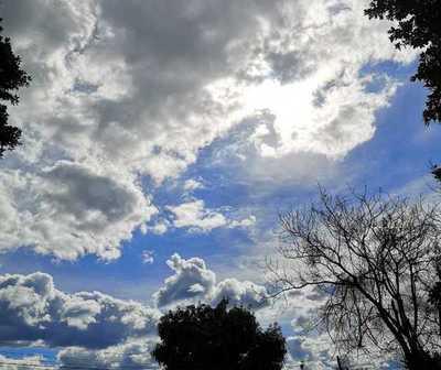 Ambiente caluroso y precipitaciones dispersas