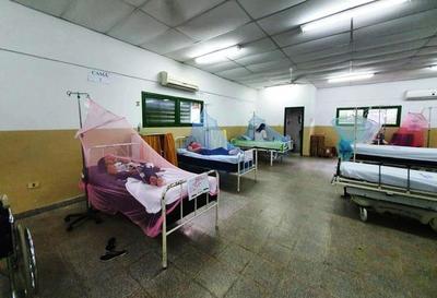 Cinco internados por posibles dengue en Luque •