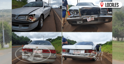 Accidente de tránsito involucró a 4 vehículos sobre la Ruta PY06