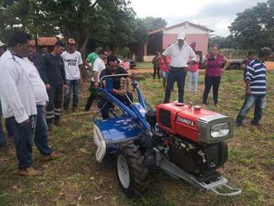 Gobierno entrega equipos para fortalecer producción en San Pedro