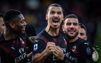Ibrahimović hizo un gol y el AC Milan venció al Cagliari