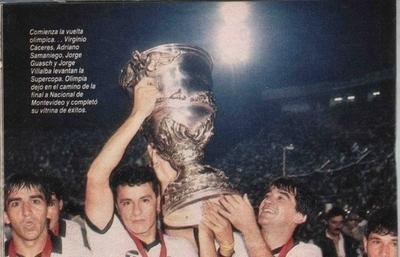 HOY / A 29 años de la noche en que Olimpia ganó dos títulos en un partido
