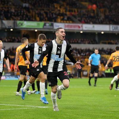 Almirón vuelve a anotar en empate del Newcastle