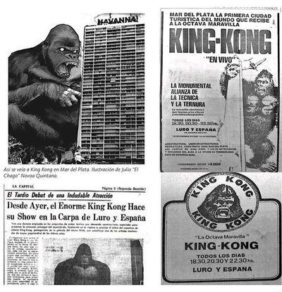 La pena de Omar: Banda de chantas atrapó y abandonó a King Kong en la Argentina