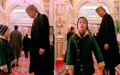"""Sacan a Donald Trump de """"Mi pobre angelito 2"""""""