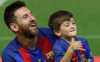 El gol de Thiago Messi que se hizo viral