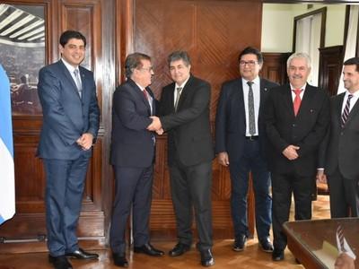 EBY: Argentina reafirma compromiso para el inminente inicio de obras de Aña Cuá