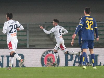 Tonny Sanabria marca en la Serie A