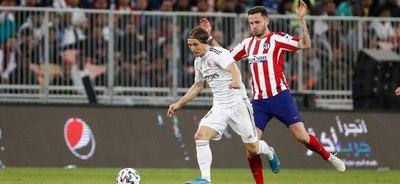 Real Madrid venció al Atlético y es campeón de la Supercopa