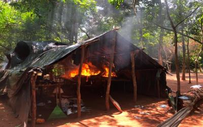 Desarticulan centro de acopio de marihuana en Amambay