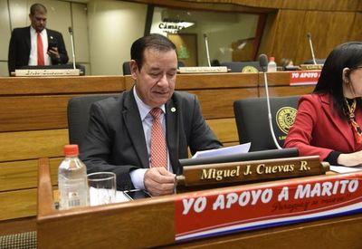 Juez define el miércoles si el diputado  Cuevas va a prisión