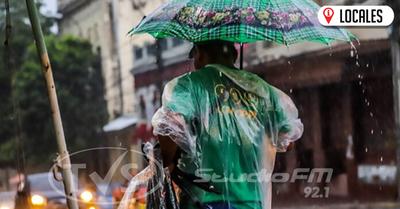 Inicio de semana laboral con clima caluroso y lluvioso