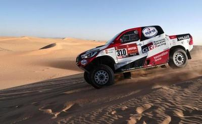Fernando Alonso acaba segundo en la octava etapa del Dakar, ganada por Serradori