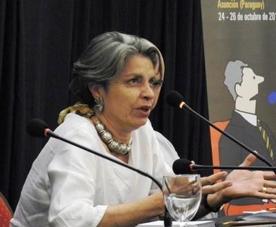 """Milda Rivarola: """"La oposición se está destrozando como alternativa"""" en las municipales"""