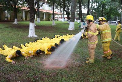 Nuevos bomberos para la ciudad de Yuty