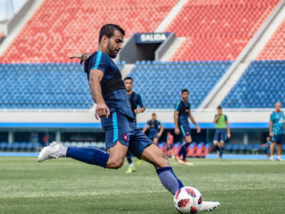 Arce perfila el equipo para el juego contra Luqueño