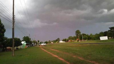 Alerta de tormentas para Amambay y otros 13 departamentos