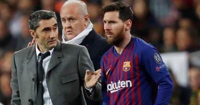 Messi tendrá nuevo entrenador en el Barcelona