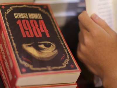 1984, la novela más prestada en la historia de la Biblioteca de Nueva York