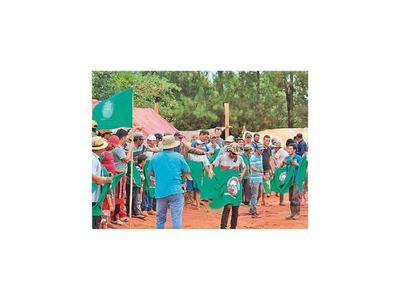 Ocupación masiva en tierras genera tensión en Caaguazú