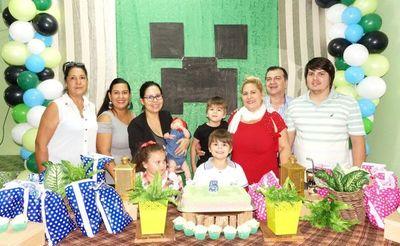 El cumpleaños de Facundo Gael Maldonado Maidana