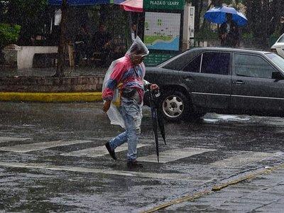 Meteorología pronostica un martes con lluvias en todo el país