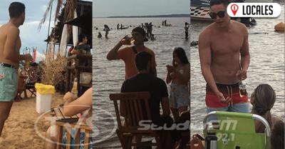 Bañistas ingresan con botellas de vidrios en las playas de Encarnación